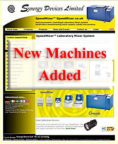 SpeedMixer™ UK site Launch New Machines